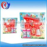 Hot selling outdoor soap bubble water toys buttle gun