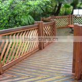 New design custom waterproof anticorrosive wood fencing