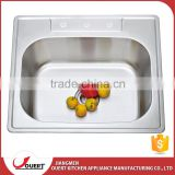 Modern design japan high quality 304 stainless steel single stainless steel kitchen sink