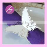 Laser Cut Wedding Party Decoration Cheap Wholesale Napkin Ring MJ-24