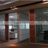 materials used building partition wall tempered double wall glass panel prices(SZ-WST734)
