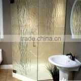 Factory supplied compact and clear prefabricated shower cubicles with accessories ready made bathroom