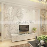 Customized Printed Glass Splashback 3mm - 10mm Painted Glass For Kitchen And Cabinet , Kitchen Splashback