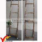 Natural Handmade Decorative Step Antique Wooden Ladder                                                                         Quality Choice