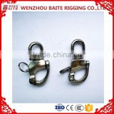 Zinc Plated European Swivel Adjustable Snap D Shackle Quick Release Shackle In China carabiner                                                                         Quality Choice
