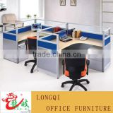 modern style fashion glass top screen office partition furniture call center office cubicle modular workstation