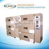 Electrode Sheet Baking three-layer vacuum oven for lithium battery production line drying machine