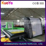 cheap inflatable water soap football field,inflatable soap soccer field,mini inflatable soccer field