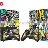 High Quality Sticker Bomb Vinyl Skin Sticker for Xbox 360 E Decals for Xbox Skin