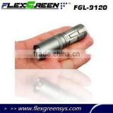 16340 battery hard anodizing Cree Q5 military mini flashlight