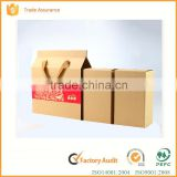 custom recycled paper cardboard tea box in China supplier