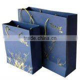 Paper rope handle gift bags, paper bags with handle, paper straw gift bags with pp handle --PB67