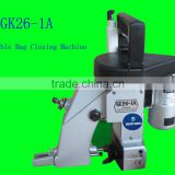 factory price GK26-1A portable bag closer closing machine