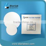 Multifunctional Grade 41 90mm Quantitative industrial Filter Papers