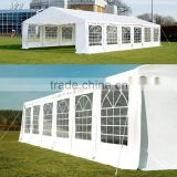 Luxury Marquee 6X12 m with strong 500gsm PVC white tarpaulin, Party Tent with fully galvanised & bolted steelframe