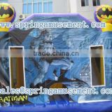 Batman inflatable combo, inflatable bouncer and slide SP-C4022
