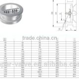 LAPAR Dual Plate Wafer Type Check Valve, Swing Type, Flapper Type Check Valve