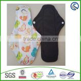 lady period pads bamboo cloth menstrual pads reusable sanitary napkin wholesale