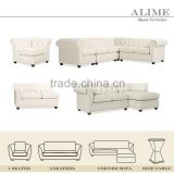 Alime ASF602 custom sectional chesterfield sofa
