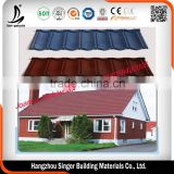 Aluminum zinc Factory Direct Sell colorful building construction aluminium roofing sheet in Zhejiang