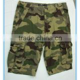 Top Brand Men Camouflage Cargo Shorts Baggy Shorts