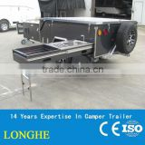 "2014 new arrival 10"" electrical brake system camper trailer/travel trailer"