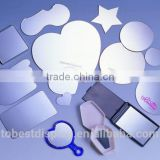 Modern and high quality flexible mirror sheet, plastic mirror sheet