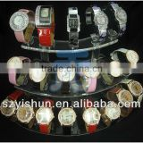 Clear Plastic Acrylic Display Watch Holder Stand Rack