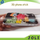 China wholesale 3d lenticular cell phone case stickers