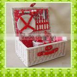 cheapest and compatitive gift basket with lid for promotional