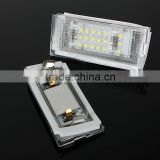 Super bright car LED License plate light/ licence number frame lamp for BMW E46 4D Sedan E46 5D touring 325i 328i 330i (98-05)