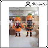 Funny boy&girl festival dress Halloween adult pumpkin mascot costume for sale