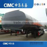 CIMC 25000 to 70000 litres 3 axles Mobile Fuel Tank Trailers for sale