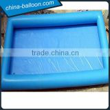 Blue outdoor inflatable swimming pool/ inflatable deep pool