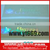 Hot-selling transparent custom hologram sticker