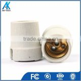 ceramic screw base lampholder e27 e10 brass shell lamp socket