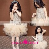 K130 New Arrival Sleeveless Knee Length Beautiful Flower Girl Dresses