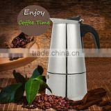 300ml Stainless Steel Coffee Maker Pot / stainless steel hot pot / Moka Espresso Latte Percolator Stove