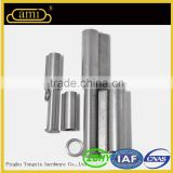 Factory Office Door and Window Round Welding Hinge with Brass Gasket