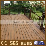China New wpc tech Color mixing composite synthetic wood decking