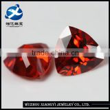 Loose CZ Stones for Clothes Decoration,Bright Machine Cut Orange Industrial Synthetic Chinese Precious Stones