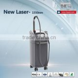 Face acne scars and skin tightening treatment machine 1550nm Erbium glass laser beijing fogool