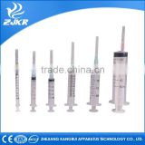New arrival High quality pet clinic 1ml luer lock syringe