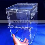 wholesale acrylic organic glass geometric glass terrarium