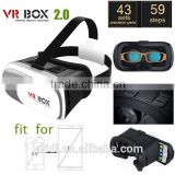 New style wholesale virtual reality 3d glasses VR BOX AR smart phone 3D movies and games