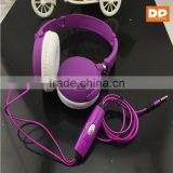 Comfortable glowing headband headphones visible in the darkness EL AUX cable fashion color earphone