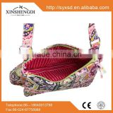 China manufacturers cotton fancy quilted casual insulated girl's small handbag import wholesale