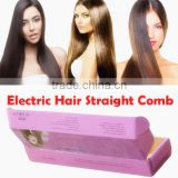 Hair Salon Equipment Beautiful Star Hair Straightener with LCD display Electric Protein Hair Straightener