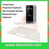 bluetooth laser virtual keyboard with mouse fuction for smartphone,tablet,laptop