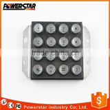 Good quality outdoor 16 keys public metal keypad